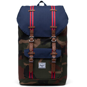 Herschel Little America Plecak, woodland camo/peacoat/tan